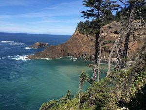 cape falcon on Oregon coast